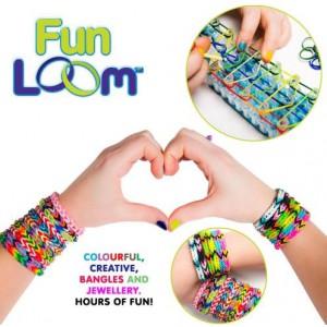 Funloom Arts and Crafts Jewellry Weaving Loom Kit