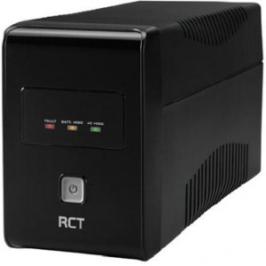 RCT 850VA Line Interactive UPS - 480 W, LED display