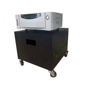 Microtek PURE SINE 1600VA Inverter Trolley + 2x 100AH Batteries (8 HOUR BATTERY LIFE) KIT - 1275W