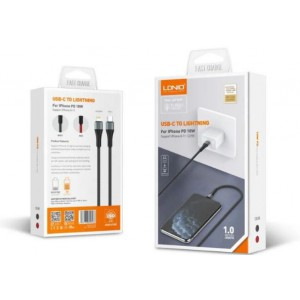 LDNIO LC961 1m PD (USB-C) to Lightning (iPhone) Cable