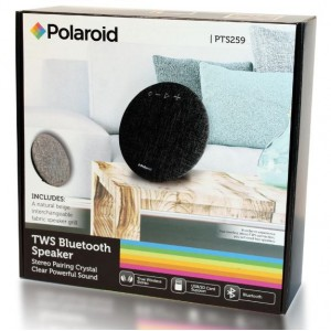 Polaroid Bluetooth Interchangeable Cover Speaker with TWS Function