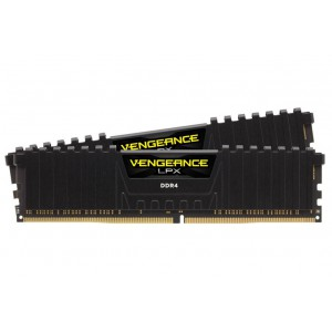 CORSAIR 32GB DDR4, 2400MHZ, VENGEANCE LPX, DUAL KIT