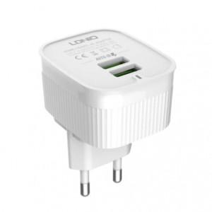 LDNIO A201 Universal Travel Charger 2 USB Ports EURO Plug