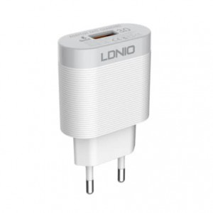 LDNIO A303Q Travel Companion Charger (Lightning - iPhone) - Euro Plug