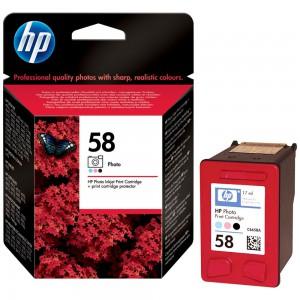 HP 58 Photo Original Ink Cartridge (C6658AE)