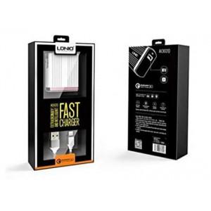 LDNIO A1302Q Intelligent Fast Charger (EU Plug) - Micro USB Cable
