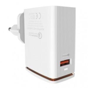 LDNIO A1301Q Fast Charger with Single USB Port QC3.0 1USB Port EURO Plug