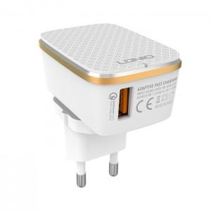 LDNIO A1204Q Travel USB Charger (EU Plug) - Type C