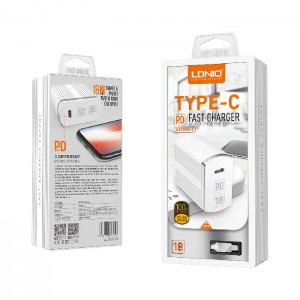 LDNIO A1302Q-C PD (Type C to Type C) Fast Charger