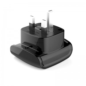 UK to South African Female Adapter Type G to Type M Travel Adapter