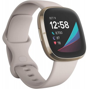 Fitbit Sense Advanced Health Smartwatch with tools for Heart Health/ Stress Management/ Skin Temperature Trends