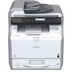 Ricoh SP 3600SF A4 Monochrome LED 4-in-1 Multi Function Printer (MFP)