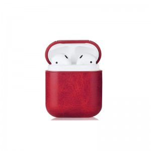 Protective Leather Cover for Apple AirPods Charging Case (PU Leather)