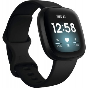 Fitbit Versa 3 Fitness Smartwatch with GPS  24/7 Heart Rate (Alexa Built-in)