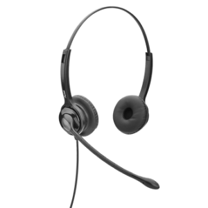 Axtel M2 Duo, Noise Cancelling, Wideband Headset