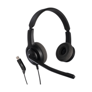 Axtel Voice28  Duo USB  Noise Cancelling Headset
