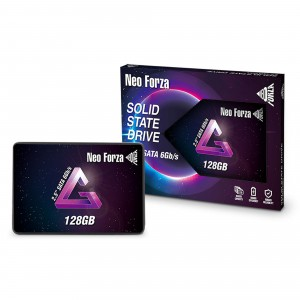"""Neo Forza 128GB 2.5"""" SSD Read/Write 540/460 MBps SATA Solid State Drive"""