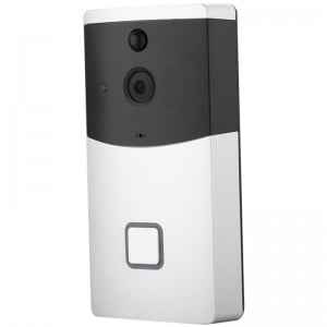Tuya Wifi Doorbell with Alexa/Google and Smart PIR Motion Detection 1080P Real-Time Two-Way Talk smart door bell
