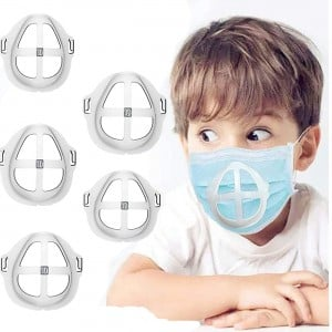 Kids Face Mask Inner Support Bracket - More Space for Comfortable Breathing - Washable,Reusable