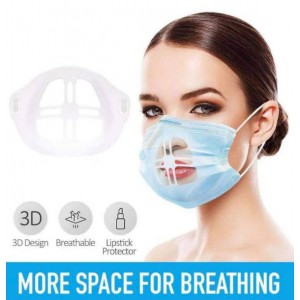Face Mask Inner Support Bracket - More Space for Comfortable Breathing - Washable,Reusable - 3 pack