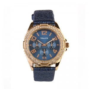 Tomato Ladies Mop Look+Blue Dial 40mm,Navy Strap Fw18 Watch