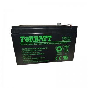 Forbatt 12v 12Ah Lead Acid Battery