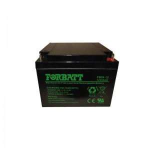 Forbatt 12v 24Ah Lead Acid Battery