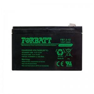 Forbatt Battery 12V 7AH - 12V 7.2AH