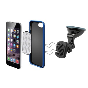 SCOSCHE MAGKIT MagicMount Universal Magnetic Dash Suction Cup Mount for the Car
