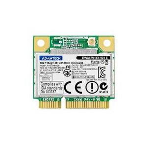 Advantech 802.11bgn WiFi Half-size Mini PCIe Card