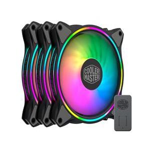 Cooler Master Masterfan MF120 Halo 3in1 Case Fan - Black