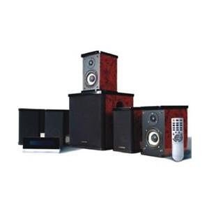 Microlab H500 5.1CH Subwoofer Speaker - Brown/ Black