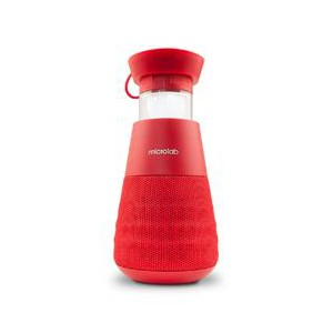 Microlab Lighthouse Portable Bluetooth Speaker - Red
