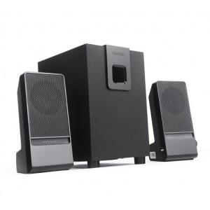 Microlab M100II 2.1CH Subwoofer Speaker - Black