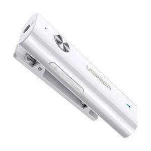 Ugreen 3.5mm Bluetooth 5.0 Wireless Audio Adapter - White