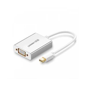 Ugreen Mini DisplayPort to VGA Female Adapter - White