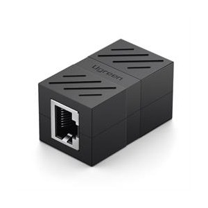 Ugreen RJ45 8P8C Network Keystone Extender - Black