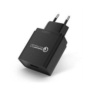 Ugreen QC3.0 1port USB Wall Charger - Black