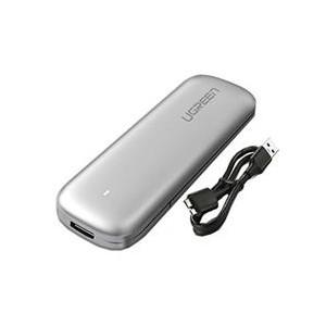 Ugreen USB3.0 M.2 B-key SATA SSD Enclosure - Grey