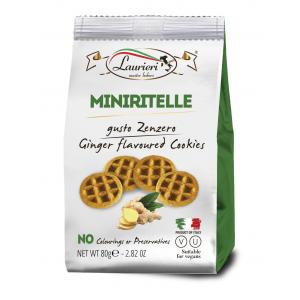 Laurieri Ginger Miniritelle Sweets - 80g