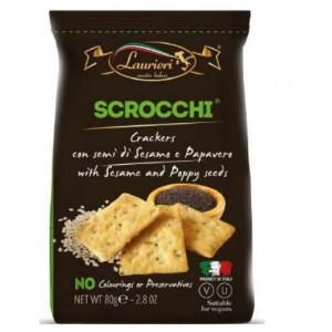 Laurieri Savoury Scrocchi - Sesame & Poppy Seeds - 80g