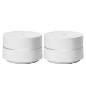 Google Wifi Router replacement for whole home coverage (2 pack) - Refurbished