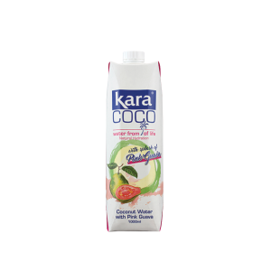 Kara Coconut Water with Pink Guava - 1000ml