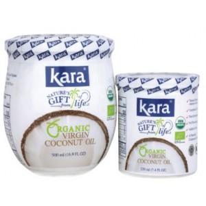 Kara Organic Virgin Coconut Oil - 220 ml