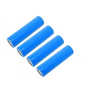 18650 Li-ion Rechargeable Battery 2600mAh 3.7V (4 Pack)