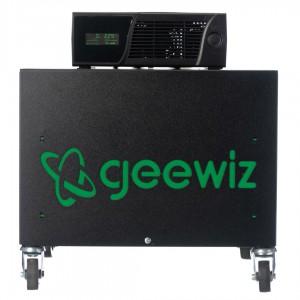 Geewiz 2400VA Inverter Trolley + 2x 100AH Batteries (8 HOUR BATTERY LIFE) KIT - 1440W