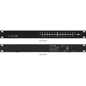 24 Port Gigabit + SFP 500W POE