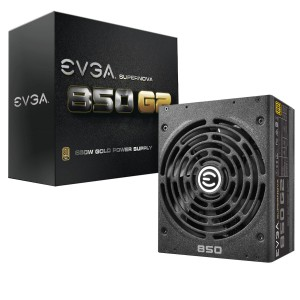 EVGA G2 850W FULLY MODULAR 80+ GOLD POWER SUPPLY UNIT