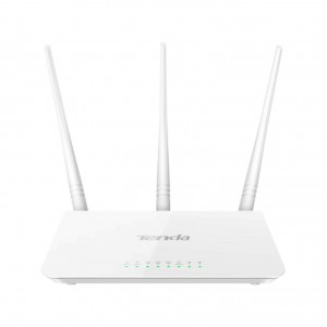 Tenda 300Mbps Wi-Fi Router and Repeater | F3