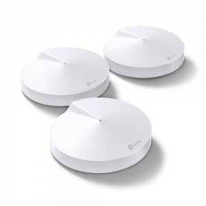 TP-Link Deco M9 Plus AC2200 Tri-Band Smart Whole-Home Wi-Fi System (3 Pack)